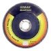ЕРМАК Диск лепестковый торцевой 22х125 Р 80