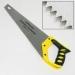 ЕРМАК Ножовка по дереву 1В 350мм зуб 5 мм заточ.