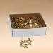Гвозди декоративные усиленные золото 100гр