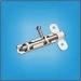 задвижка -шпингалет ЗТ-82(полимер бел)