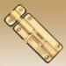 сердечник 70 мм, 35*35, 6 кл, кл-кл, золото