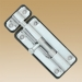 сердечник 70 мм, 35*35, 6 кл, кл-кл, хром