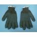 перчатки 5ти нитка черные ПВХ (53 гр)