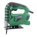 HITACHI лобзик CJ 65 V3 400вт 0-3000 об/мин., возможность регулировки скорости, удобная обрезиненная ручка, длина рабочего хода режущего полотна дерево/ металл - 65/6мм. Вес 1,5кг