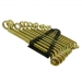 ЕРМАК Набор ключей накидн 12пр. пласт, желт. 8-32