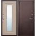 дверь Царское зеркало Бел дуб 960 лев  Утеплен